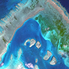 WorldView-2 Satellite Image of the Great Barrier Reef