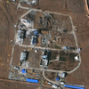 WorldView-2 Satellite Image of Iranian Missile Facility (Destroyed)