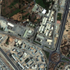 WorldView-2 Satellite Image of Gaddafi Compound