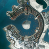 WorldView-2 Satellite Image of The Pearl-Qatar
