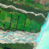 WorldView-2 Satellite Image of the Rakaia River