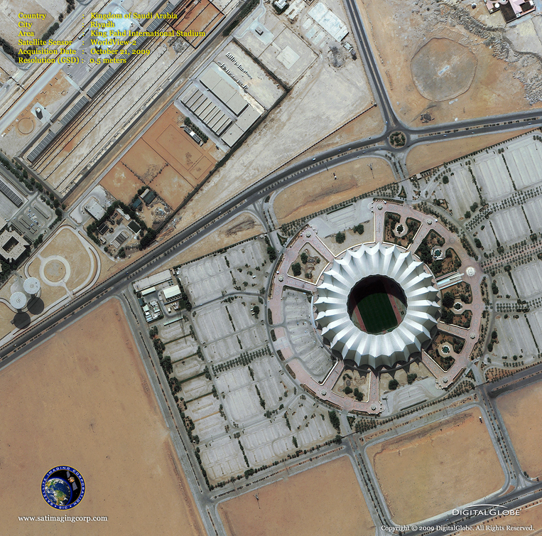 Satellite Image of Dallas Love Airport in Dallas, Texas