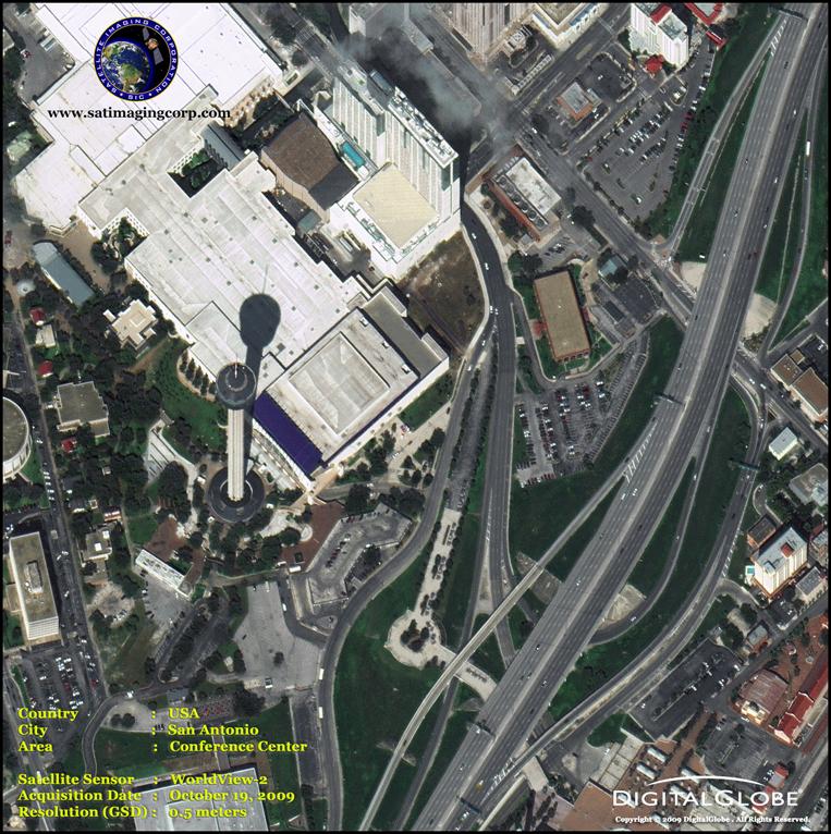 Satellite Images - San Antonio, Texas
