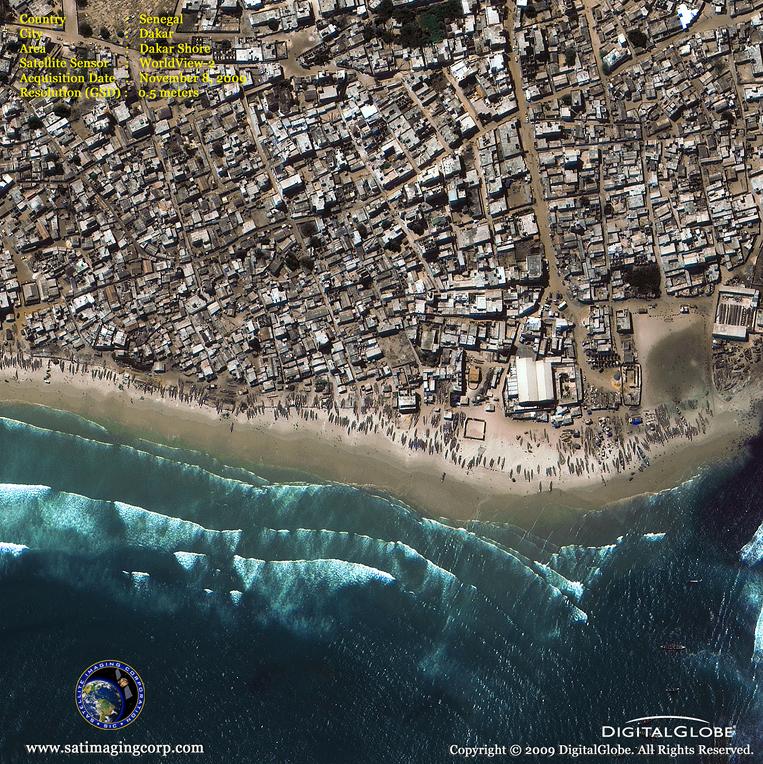 Satellite Images - Dakar, Senegal