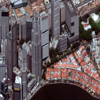 WorldView-2 Satellite Image of Singapore Marina District