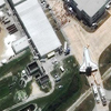 WorldView-2 Satellite Image of the Final Space Shuttle Mission