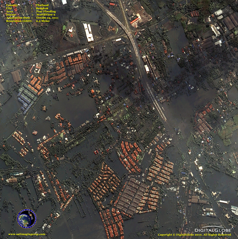 Satellite Images - Bangkok, Thailand