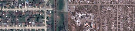 Citra Satelit dan GIS dalam Mitigasi Bencana Alam Tornado Moore Oklahoma