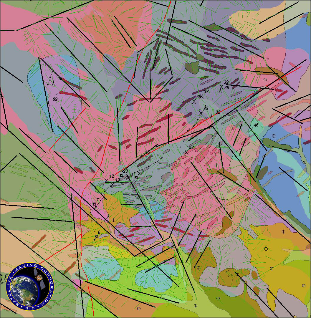 Mineral Mapping Mining Geological Mapping Satellite Imaging Corp - Us map aster